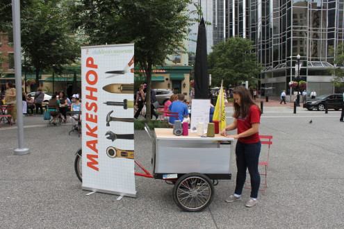 Maker Corps Bike Cart