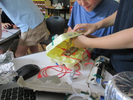 makey makey installation